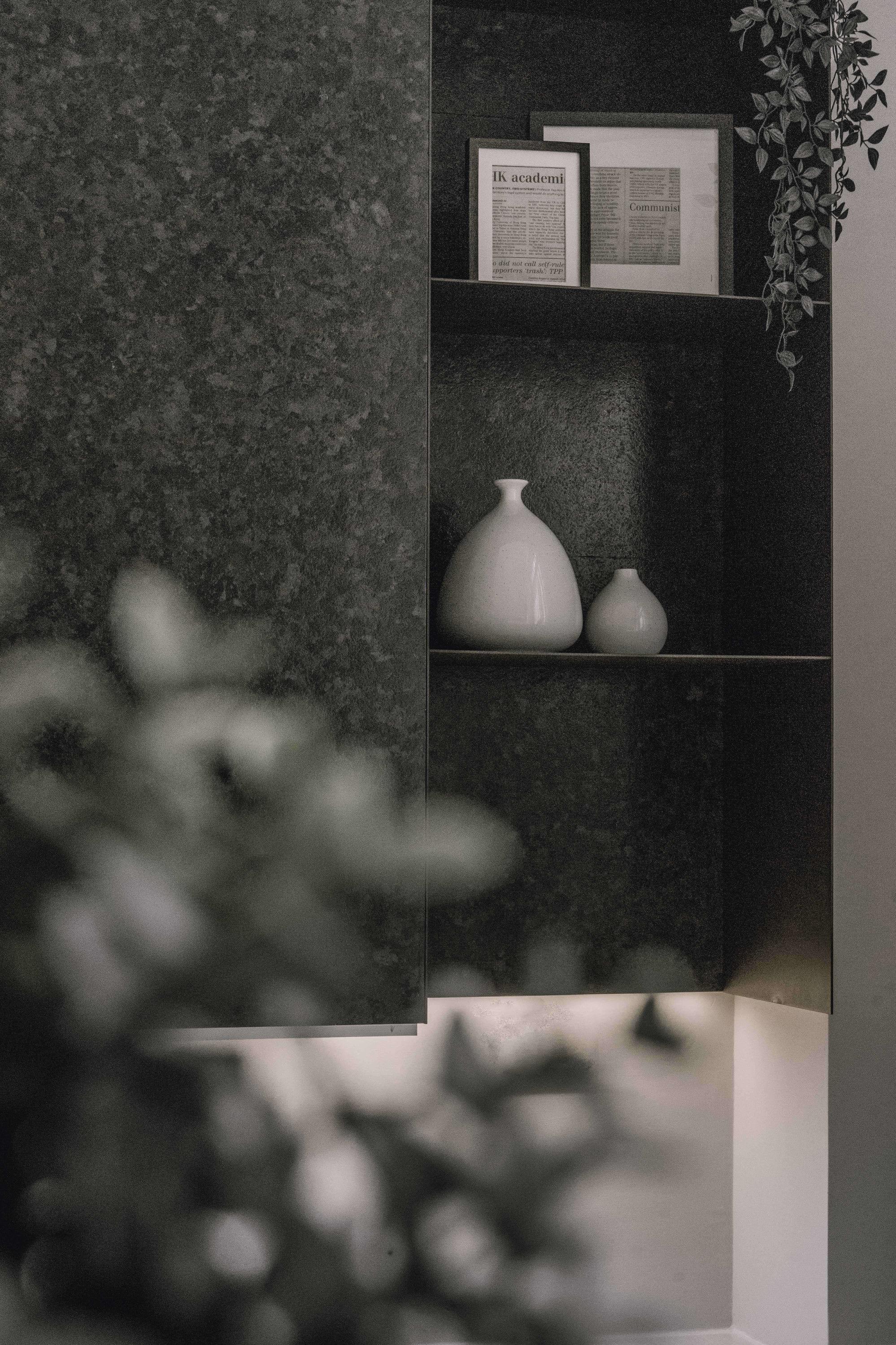 分子室內裝修設計-台中室內設計公司-透天電梯住宅-客廳