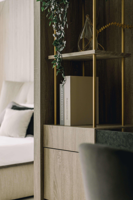 分子室內裝修設計-台中室內設計公司-透天電梯住宅-臥室