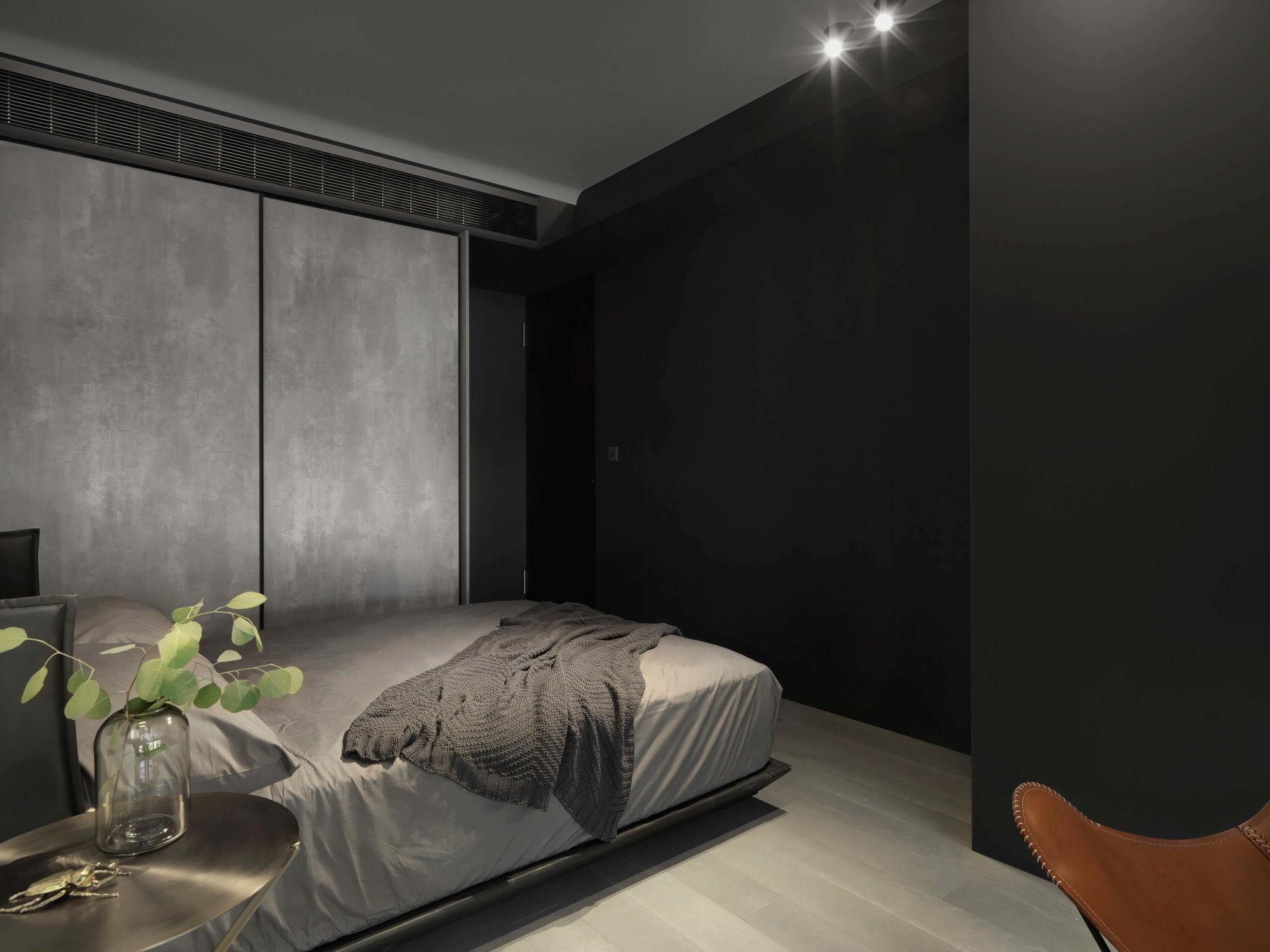 台中分子設計-現代風設計師-台中七期室內設計-電梯大樓整體規劃-臥室設計、FENIX