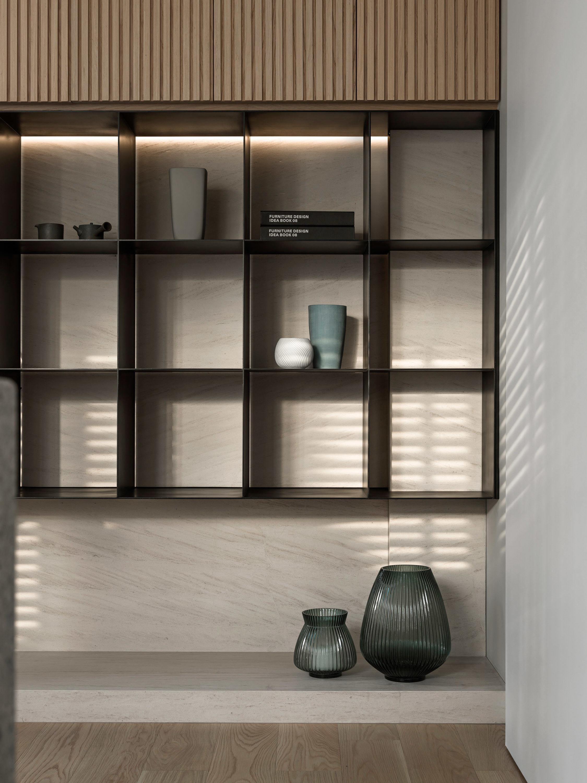 分子室內裝修設計-住宅設計-書房設計-櫃體設計