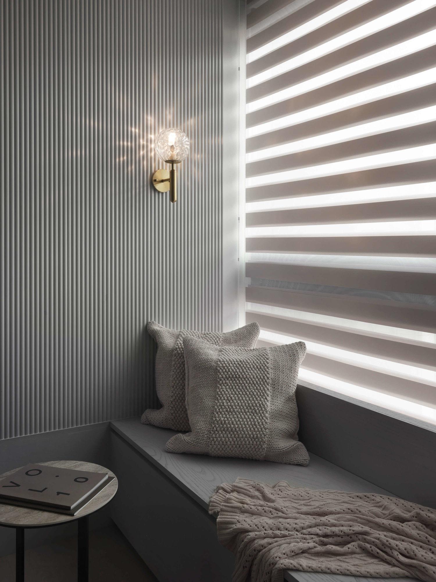 台中分子設計-現代風設計師-台中七期室內設計-電梯大樓整體規劃-臥室臥榻收納