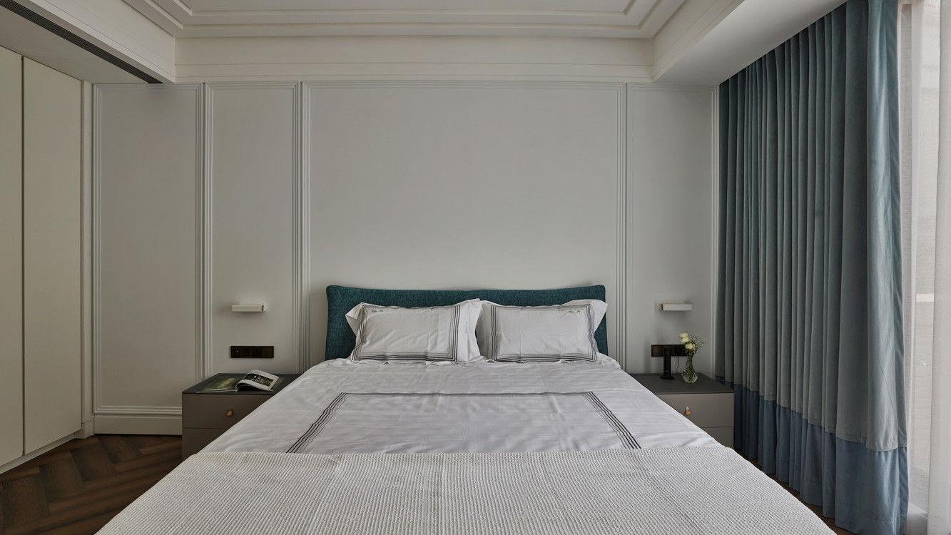 分子室內裝修設計-住宅空間設計作品-臥室2