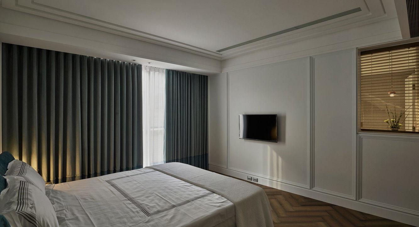 分子室內裝修設計-住宅空間設計作品-臥室3