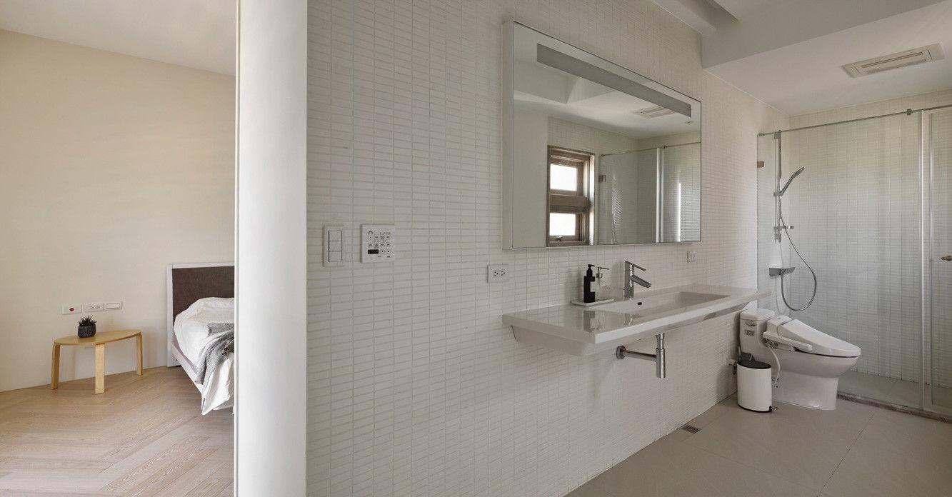 分子室內裝修設計 - 住宅設計 - House on A Hill - 主臥室獨立衛浴