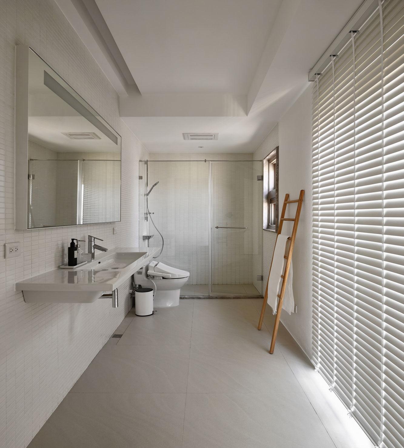 分子室內裝修設計 - 住宅設計 - House on A Hill - 獨立衛浴