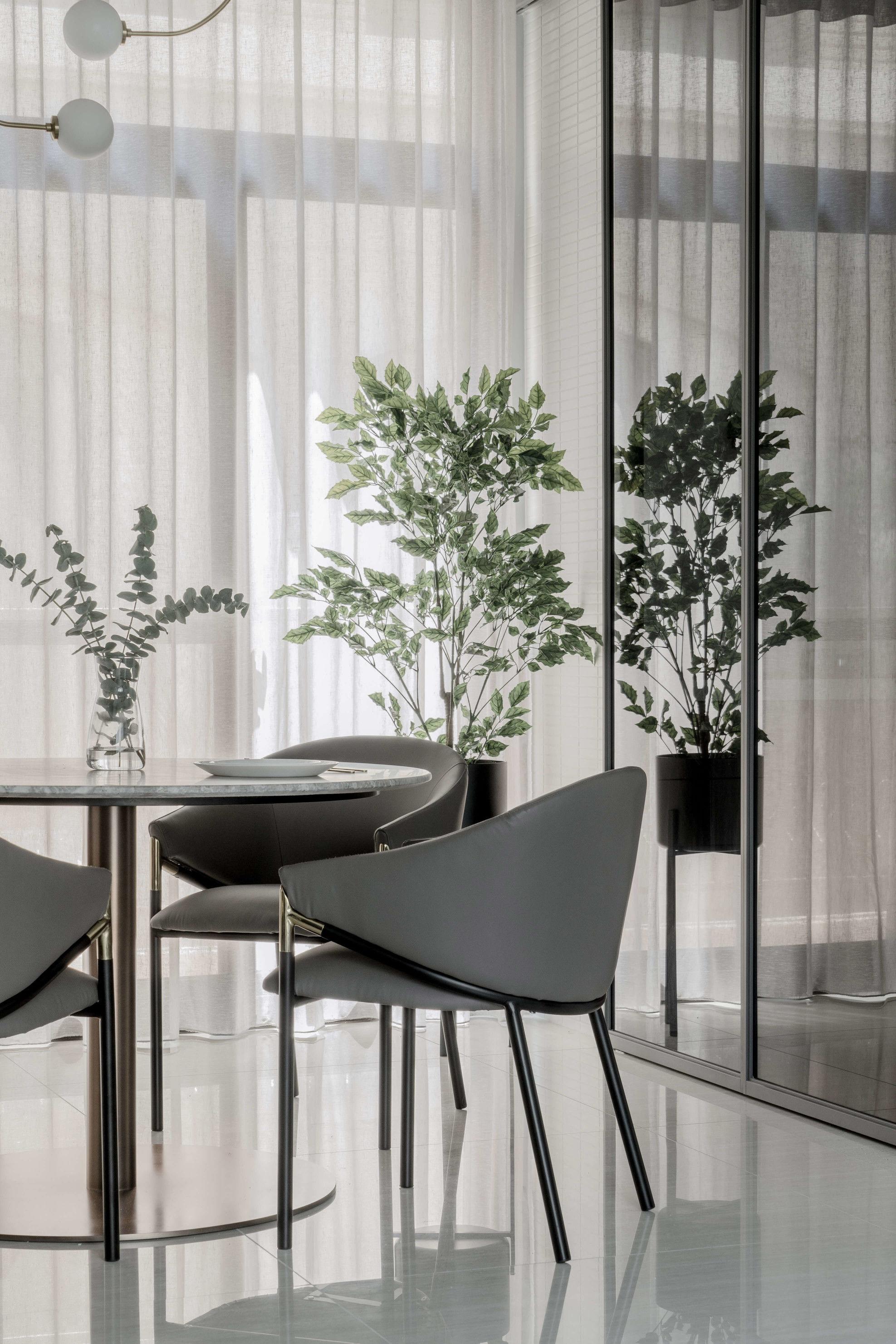 分子室內裝修設計Moleinterior-台中室內設計透天住宅設計-餐廳訂製家具