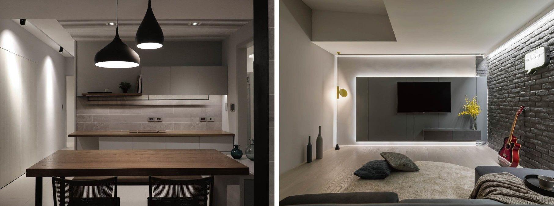 分子室內裝修設計-住宅空間室內設計、照明規劃
