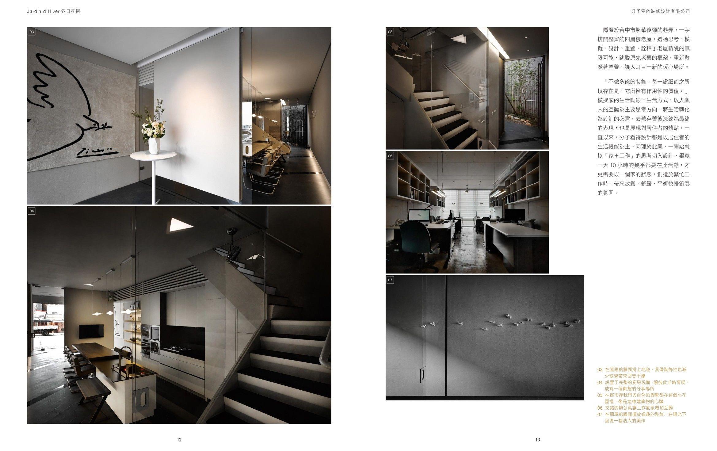 台灣室內設計公司、台中室內設計公司,雜誌報導、商業空間辦公室設計