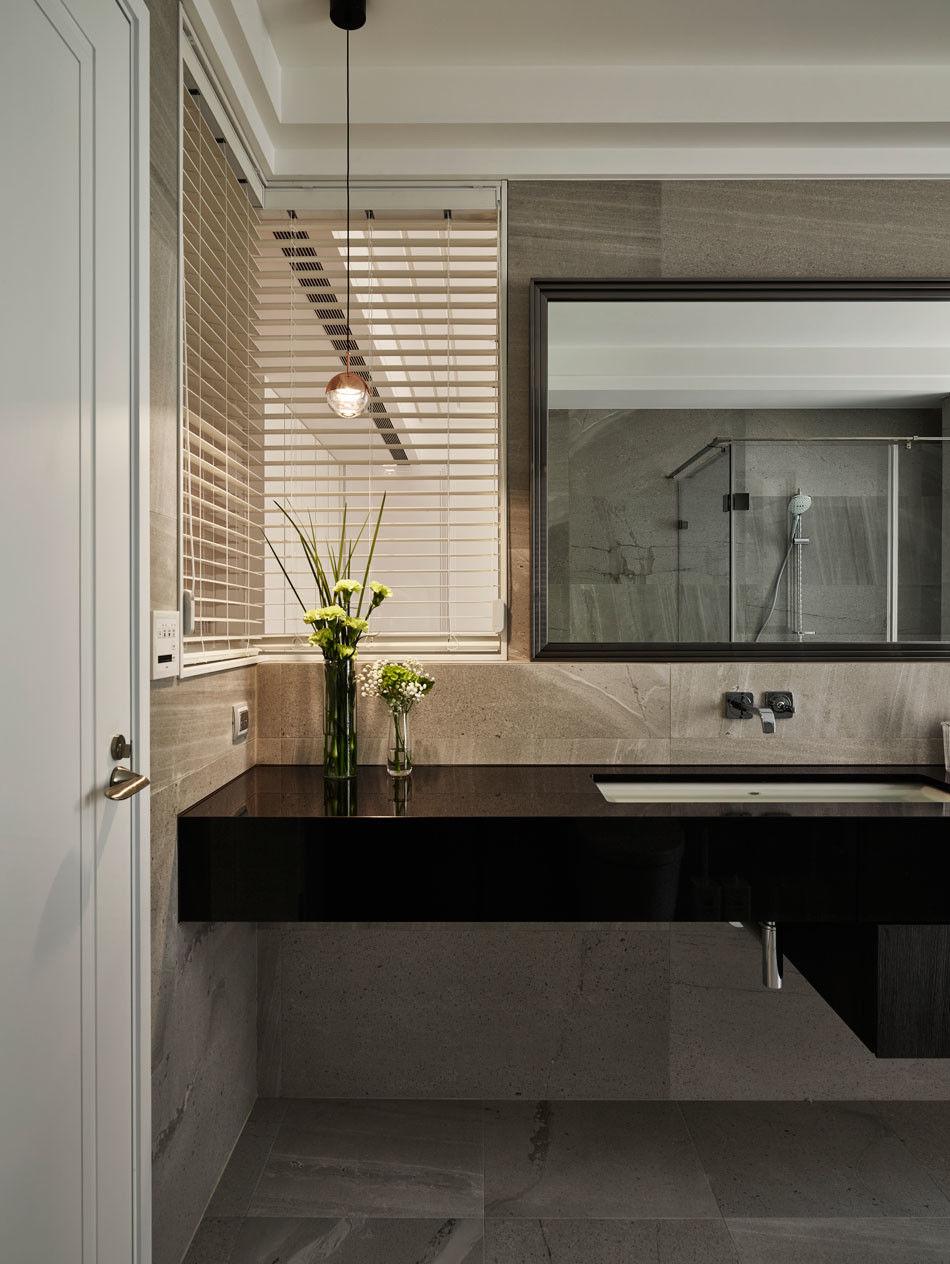 分子室內裝修設計-住宅空間設計作品-衛浴2
