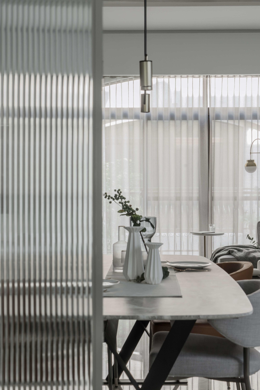 分子室內裝修設計Moleinterior-台中室內設計透天住宅設計-客餐廳裝修