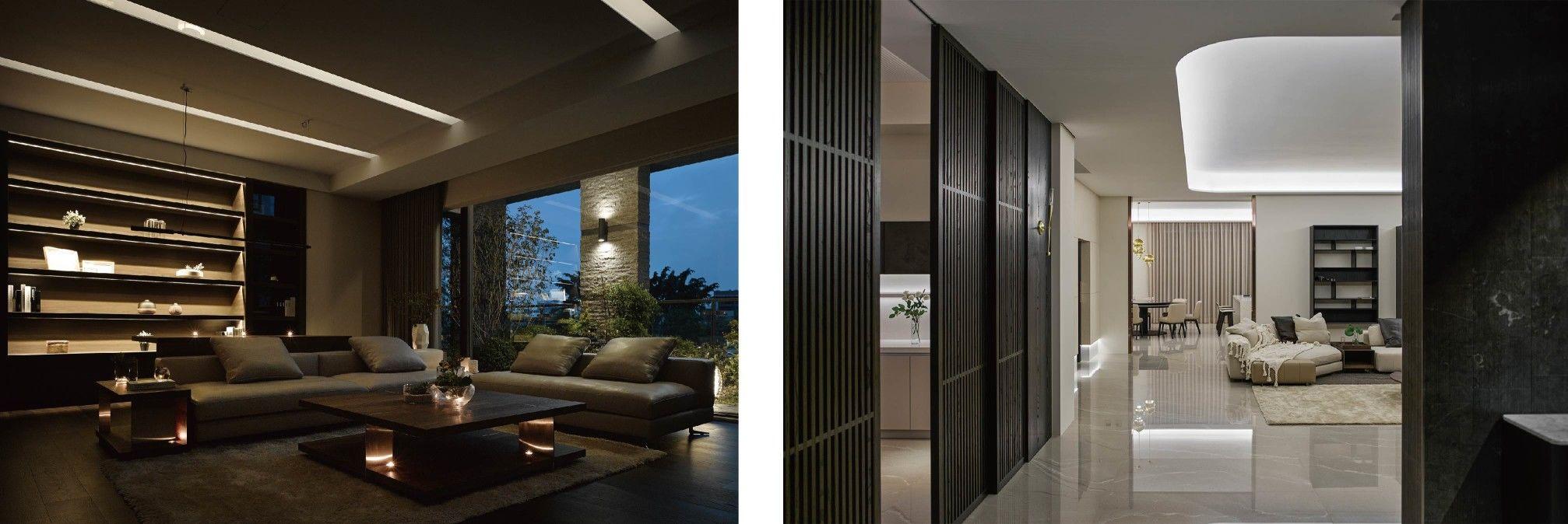 分子室內裝修設計-室內空間、商業空間-照明規劃
