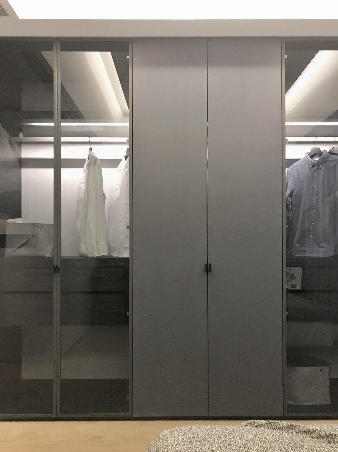 分子室內裝修設計-電梯大樓-實品屋樣品屋-主臥室空間-碧根21號白派建築