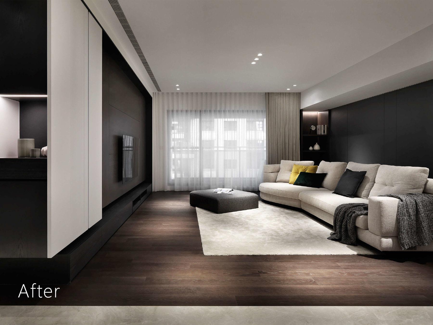 分子室內裝修設計-住宅設計-高級住宅-毛胚屋設計-全室規劃設計