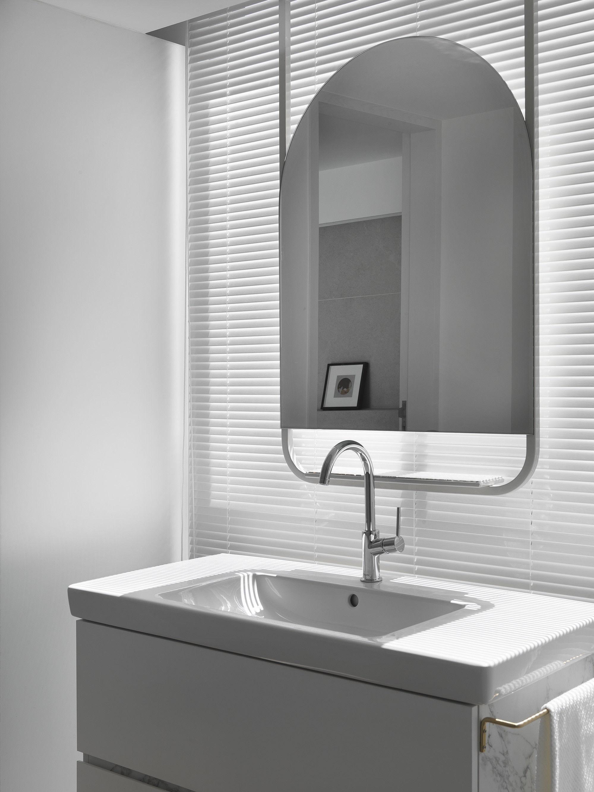 台中 分子室內裝修設計 - 單層電梯大樓 - 現代風住宅設計 - 全室舊屋翻新 - 訂製水槽