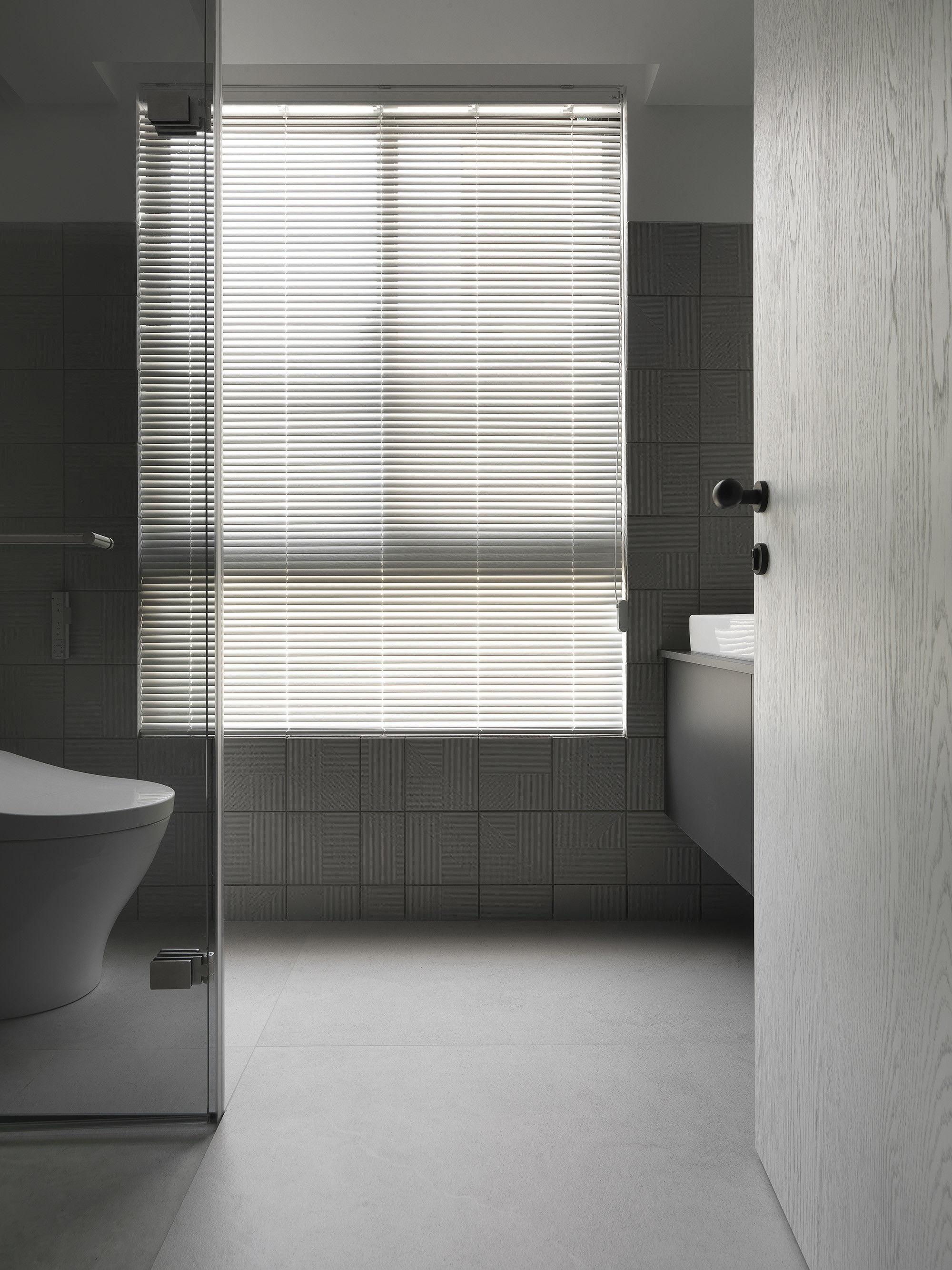 台中 分子室內裝修設計 - 單層電梯大樓 - 現代風住宅設計 - 全室舊屋翻新 - 衛浴空間 - 浴室