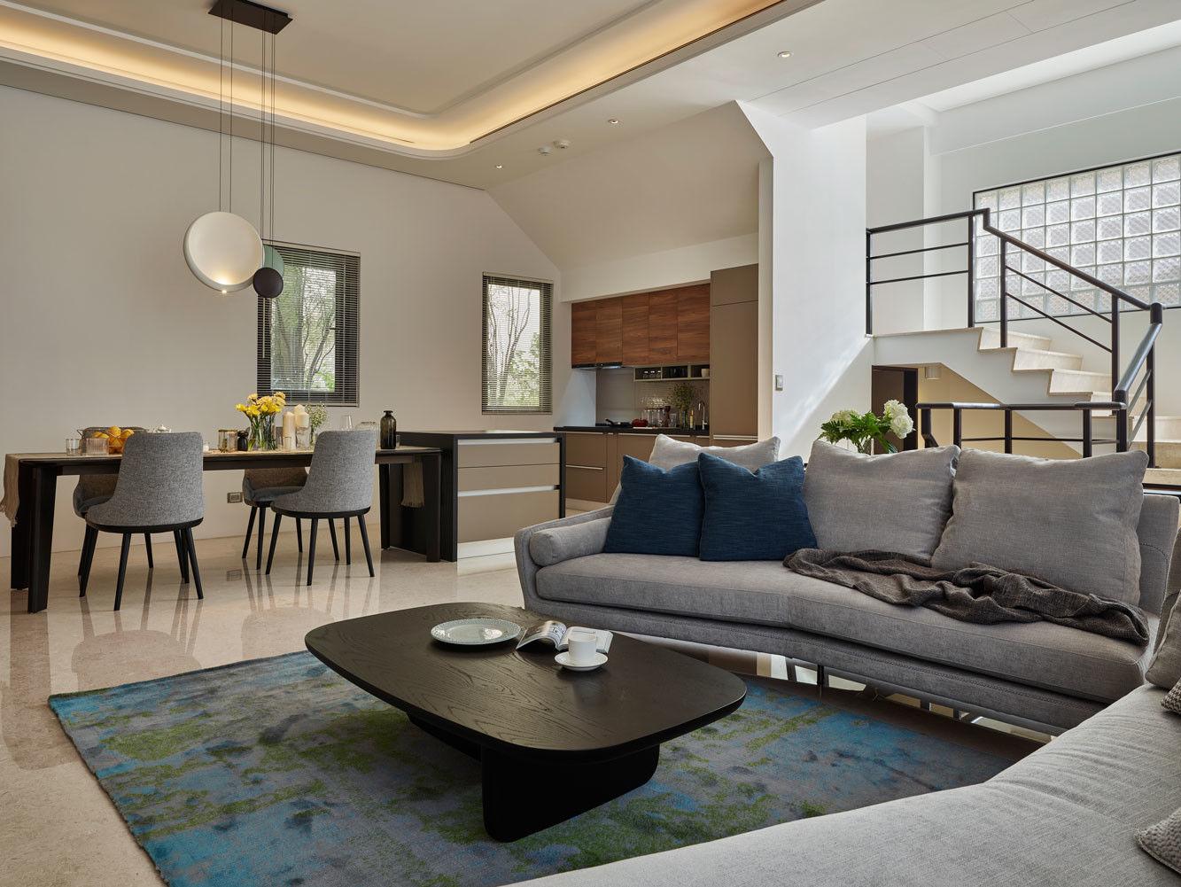 分子室內裝修設計-住宅空間設計作品-客廳2