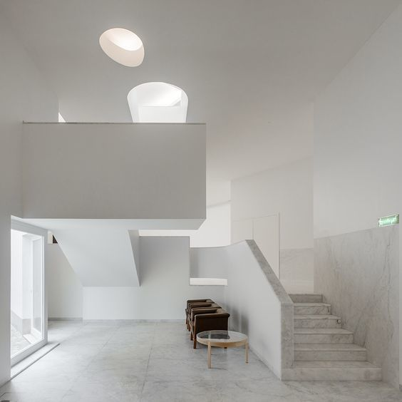 Álvaro Siza 國際建築大師-葡萄牙博物館室內