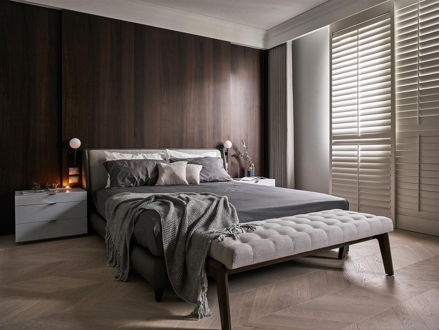 台中分子室內裝修設計 - 裝修住宅設計- 臥室空間設計-臥房