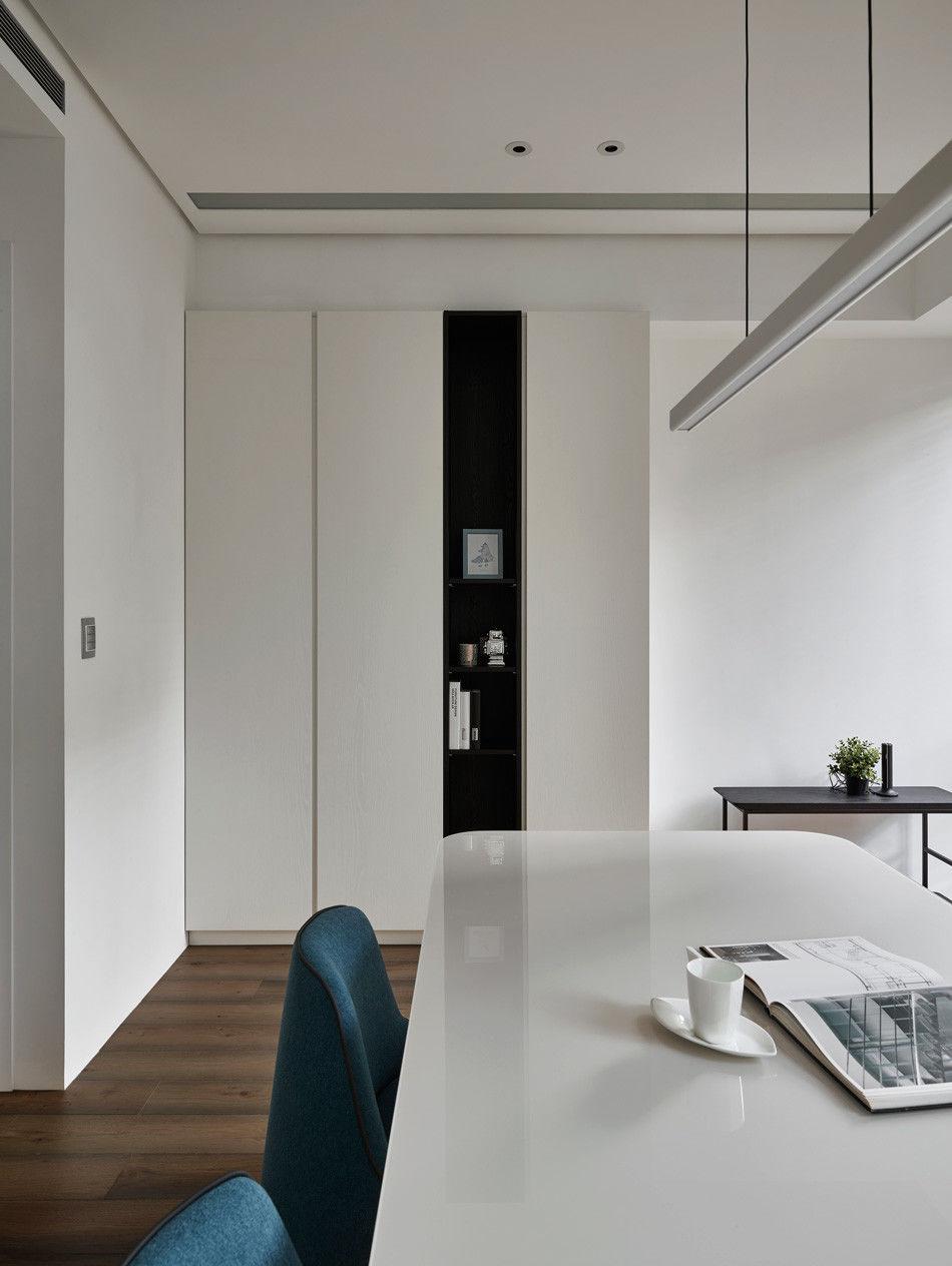 分子室內裝修設計-住宅空間設計作品-書房2