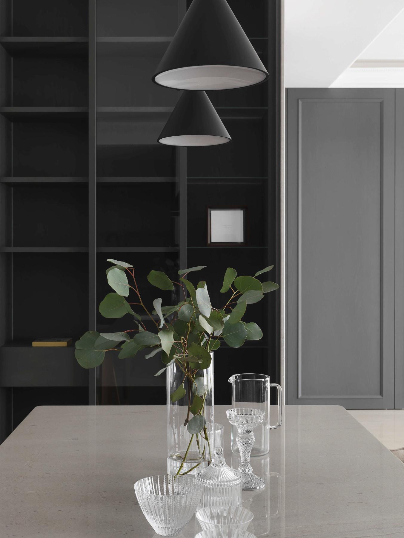 分子室內裝修設計-住宅空間設計作品 Shades of Grey 餐桌5