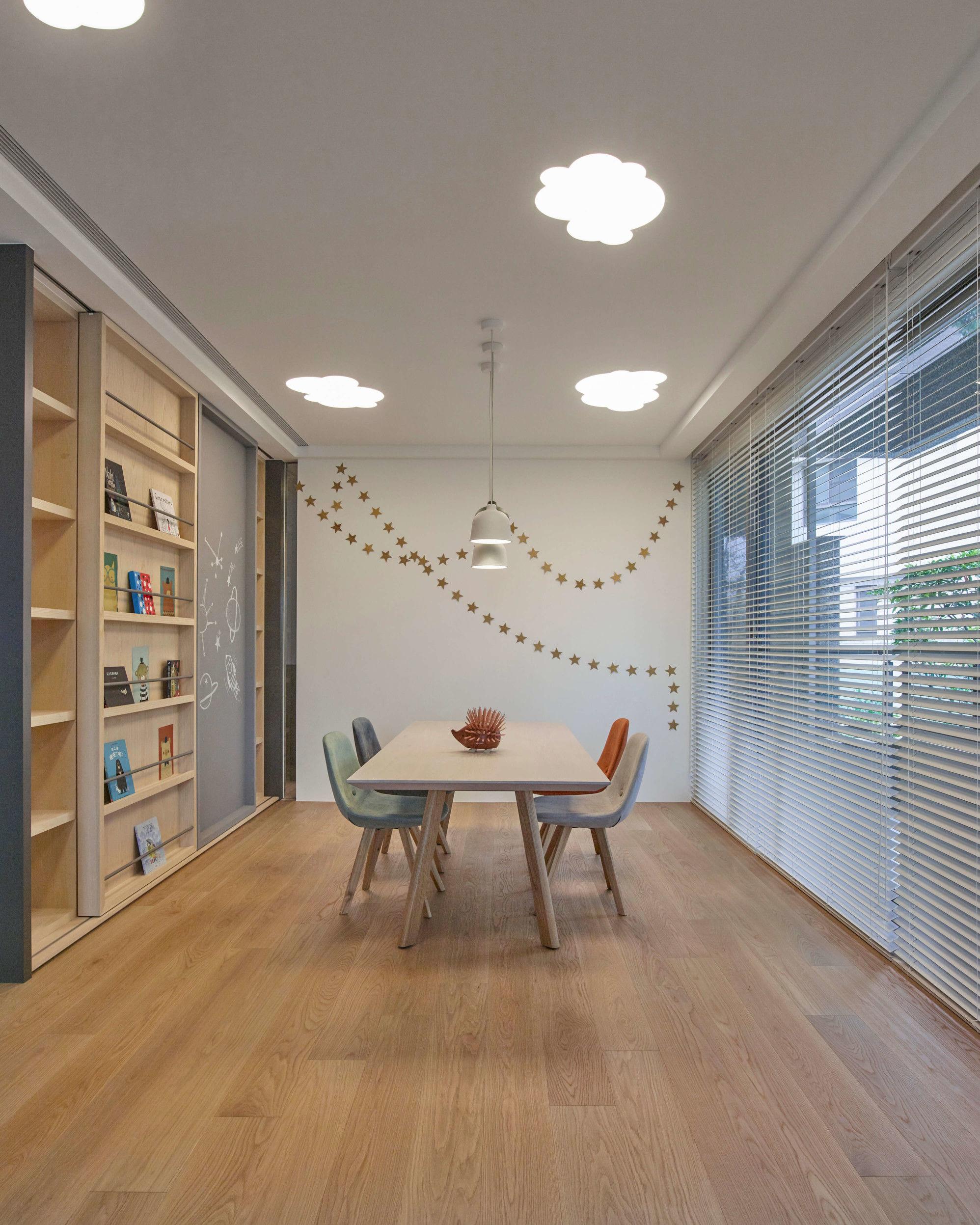 台中分子室內裝修設計 - 裝修住宅設計 - 自地自建 - 兒童空間-遊戲室