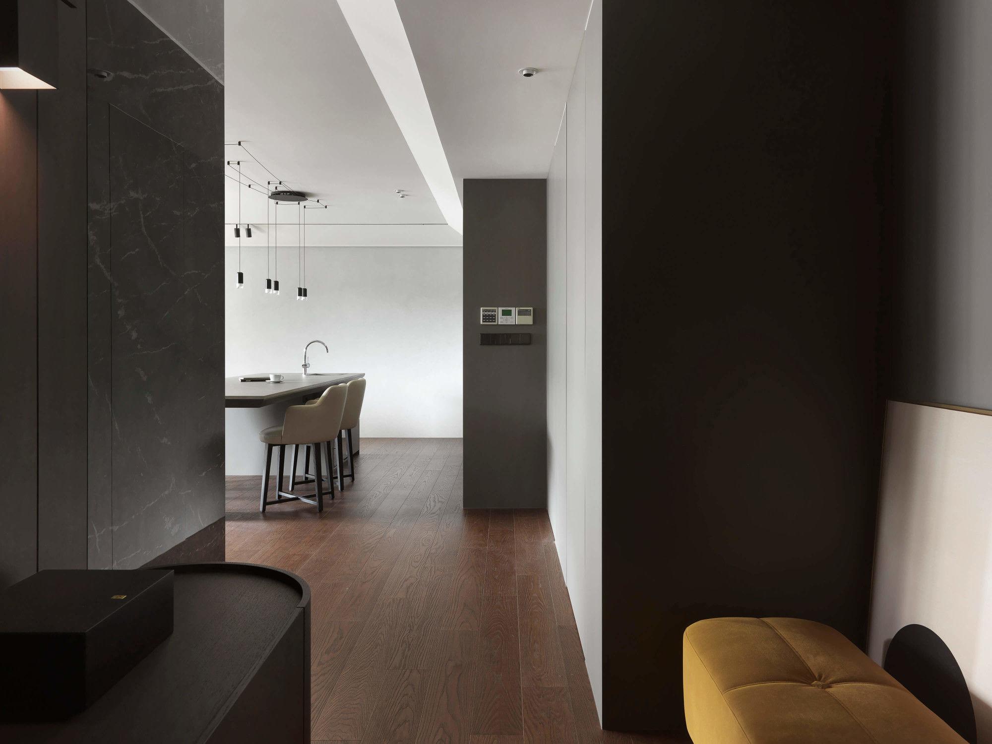 分子室內裝修設計-台中七期現代風格-玄關空間