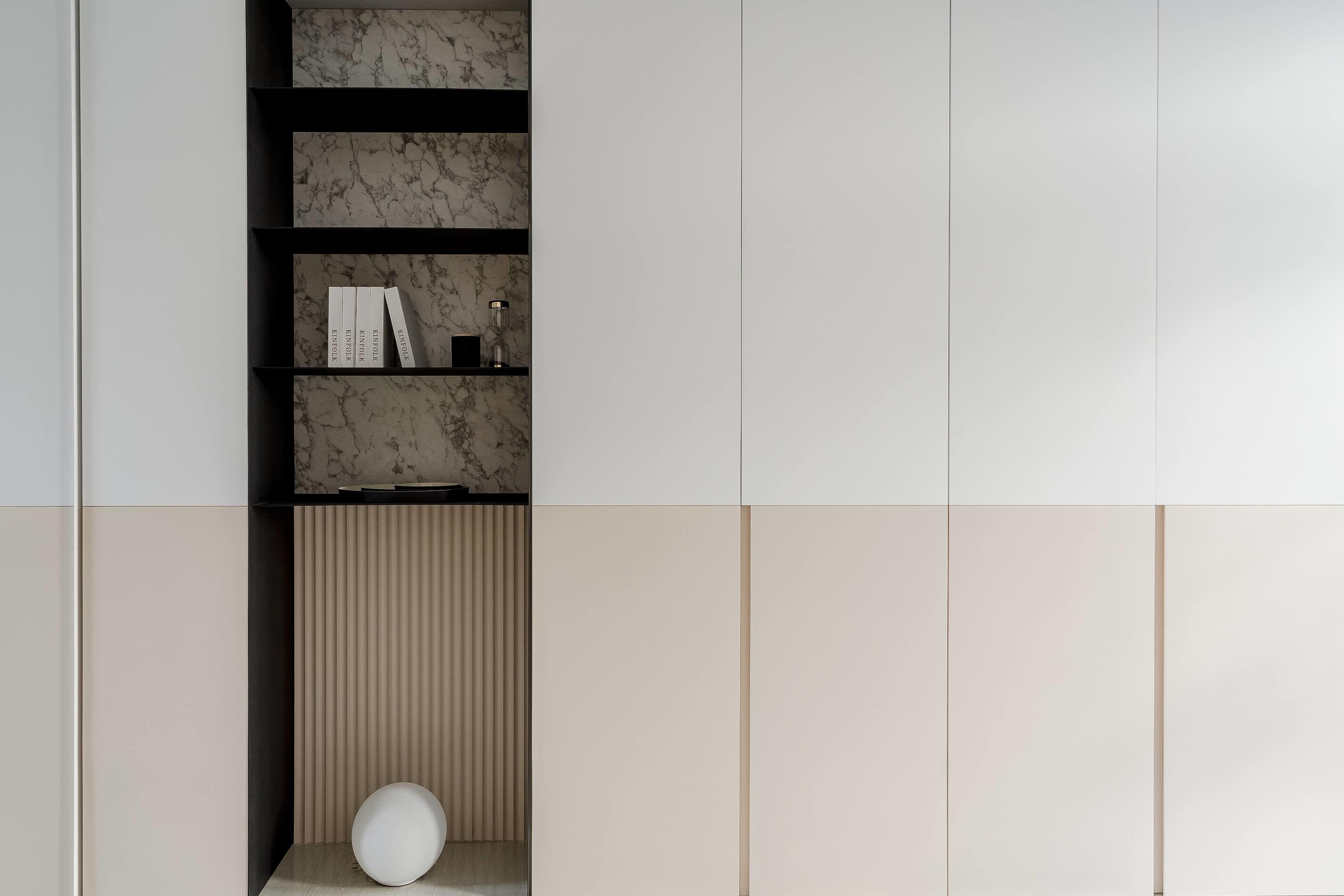 分子室內裝修設計Moleinterior-台中室內設計透天住宅設計-主臥室