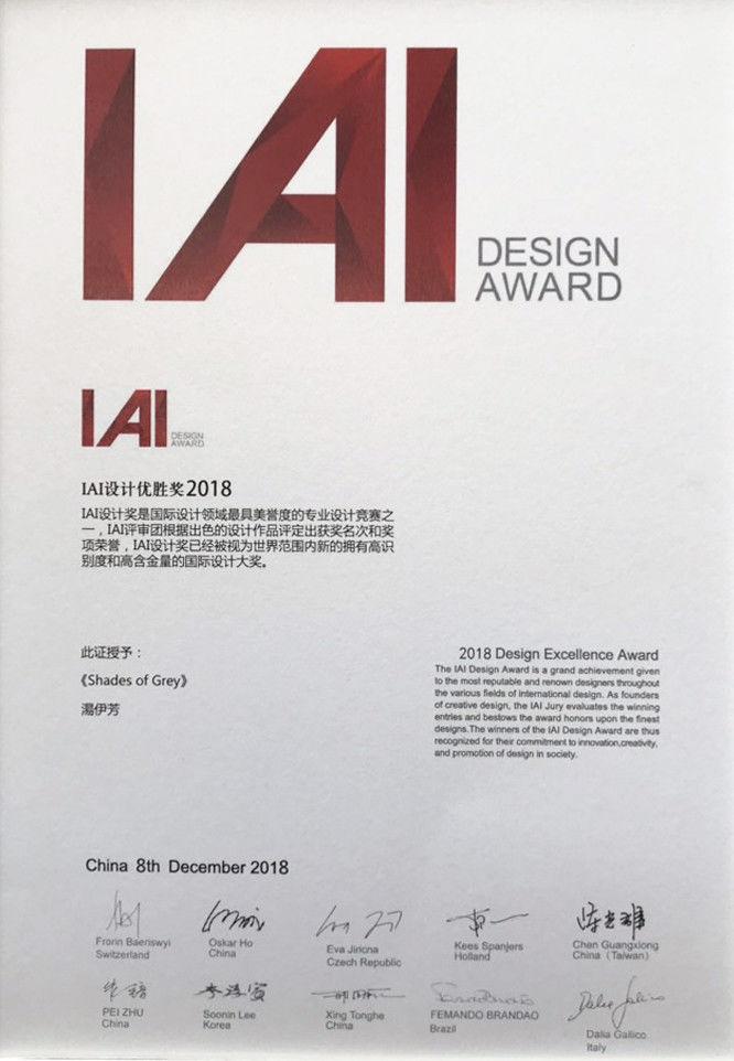 2019 iai desugn award 最佳設計優勝獎 - 分子室內裝修設計 - 湯設計師
