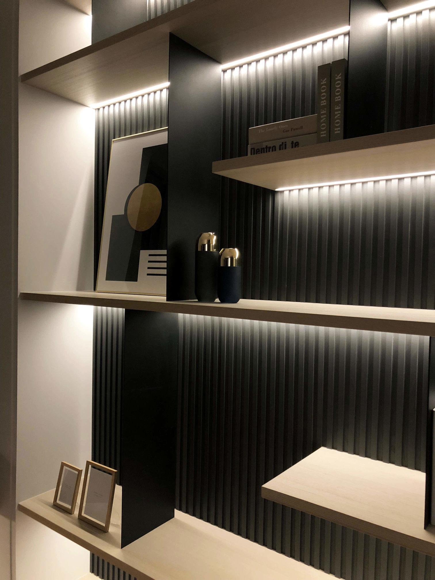 分子室內設計-住宅設計-豪宅設計-櫃體設計