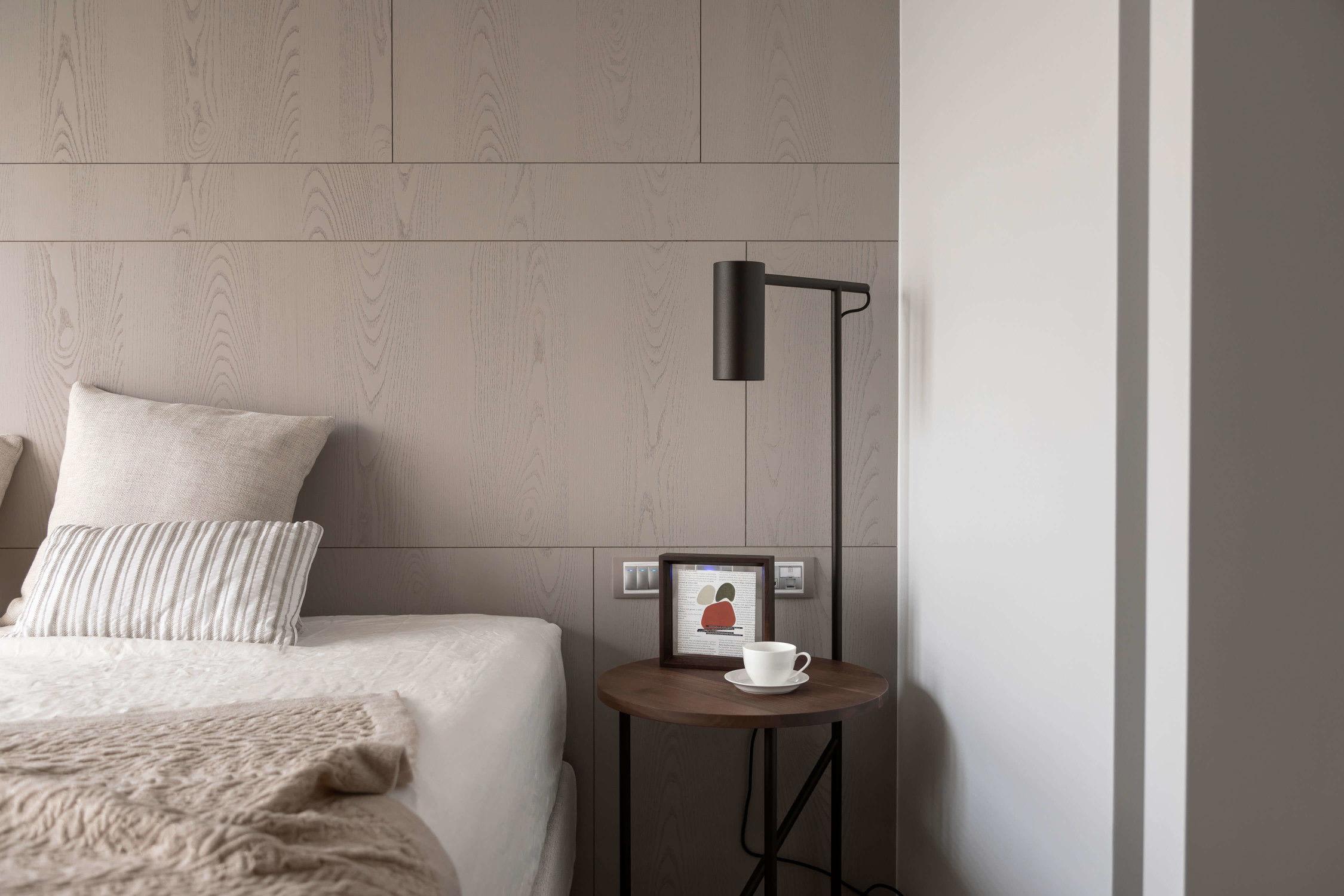 分子室內裝修設計-住宅空間設計作品 The wa-sa-bi home 床頭設計