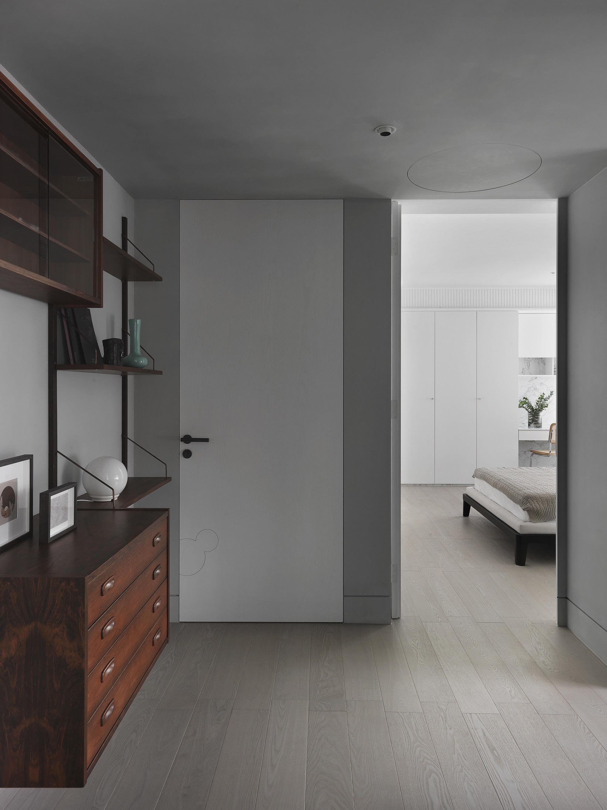 台中 分子室內裝修設計 - 單層電梯大樓 - 現代風住宅設計 - 全室舊屋翻新 - 北歐家具