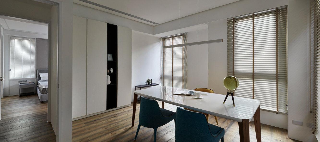 分子室內裝修設計-住宅空間設計作品-書房