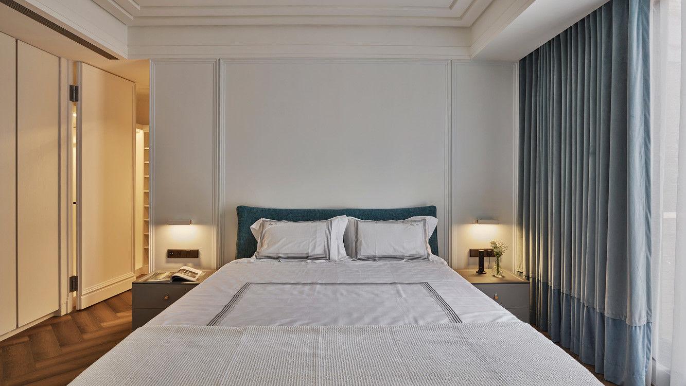 分子室內裝修設計-住宅空間設計作品-臥室1