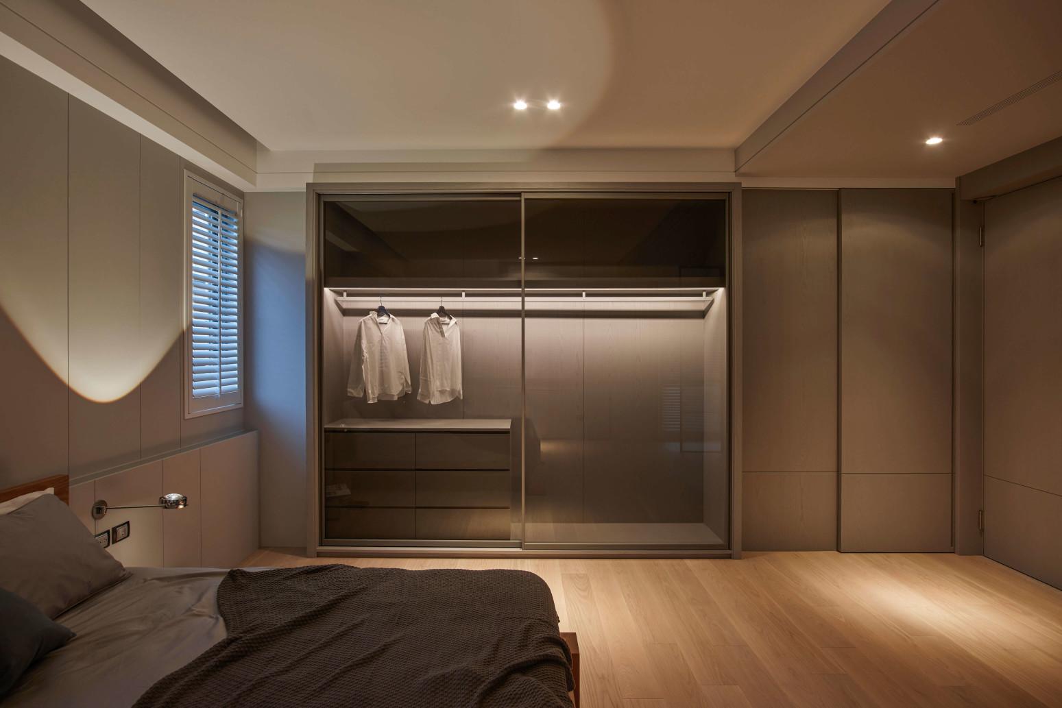 台中分子室內裝修設計 - 裝修住宅設計 - 自地自建 - 臥室臥房