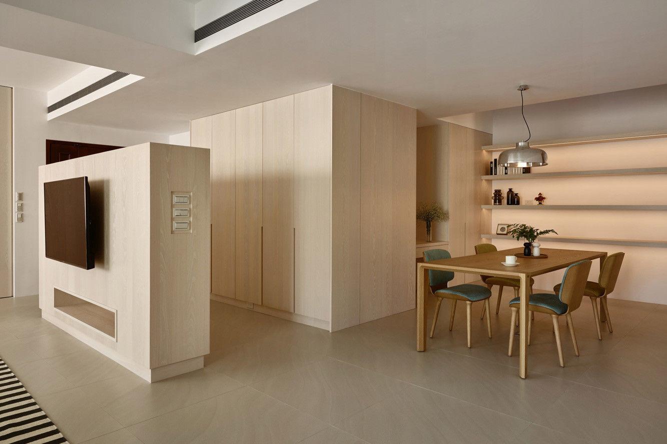 分子室內裝修設計 - 住宅設計 - House on A Hill - 餐廳