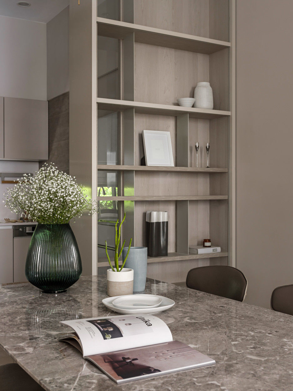 分子室內裝修設計-住宅空間設計作品 Journey -餐桌