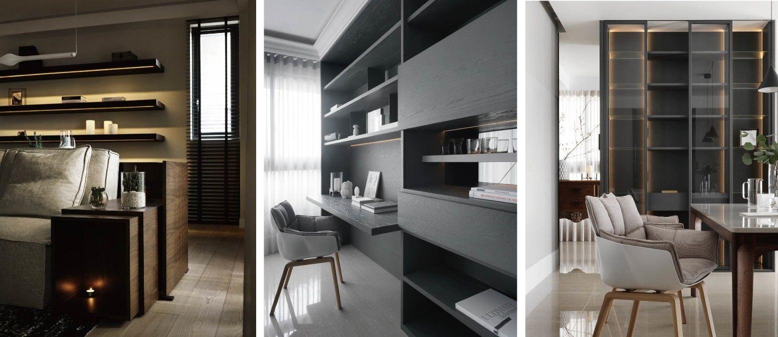分子室內裝修設計-住宅空間與商業空間-照明規劃設計