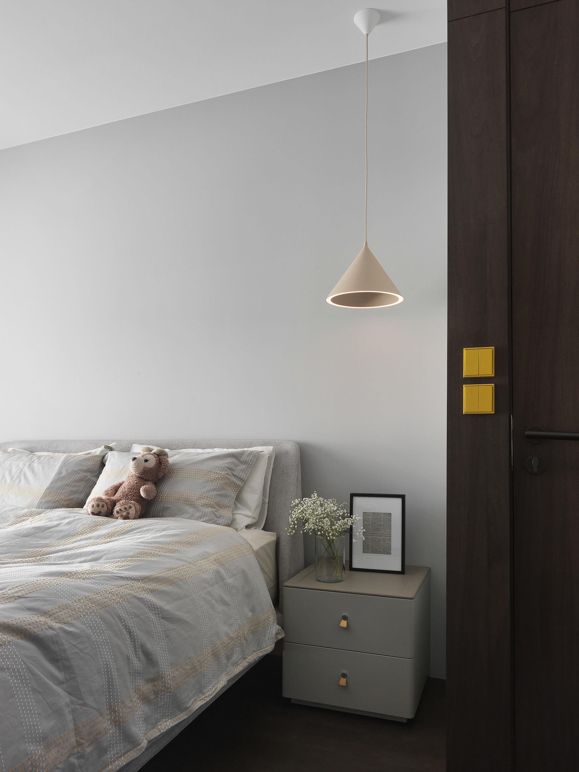 分子室內裝修設計-台中七期住宅-住宅裝修設計-次臥室