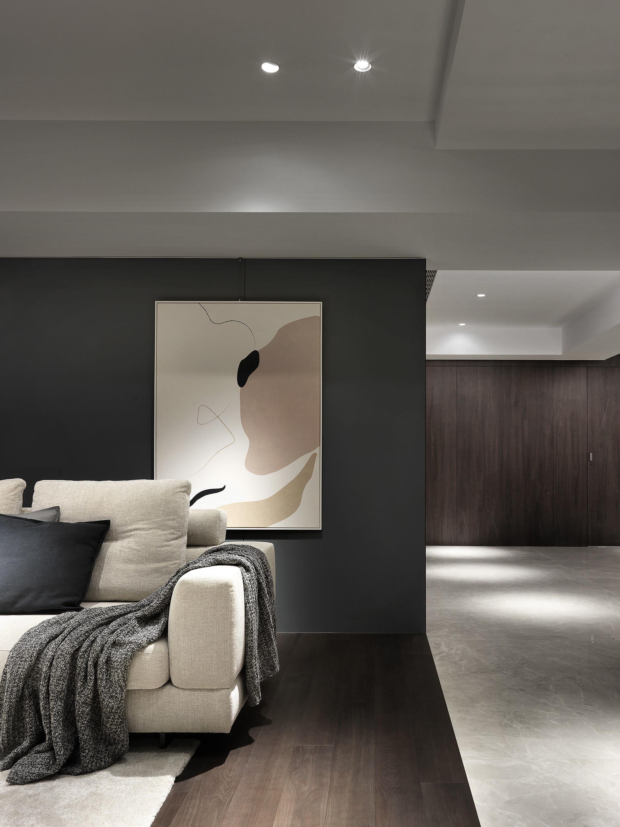 分子室內裝修設計-台中七期住宅-住宅裝修設計-客廳