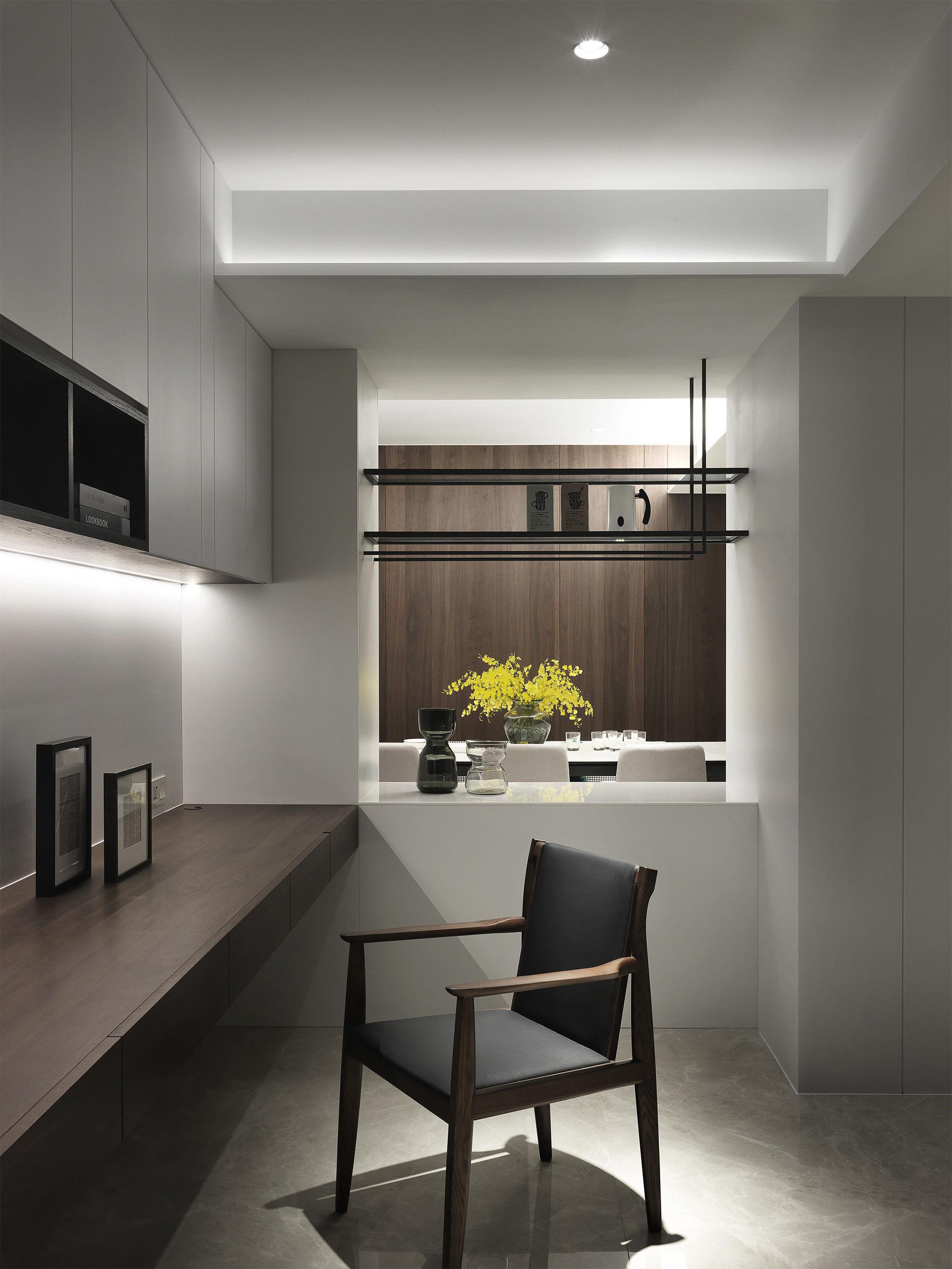 分子室內裝修設計-台中七期住宅-住宅裝修設計-公共空間